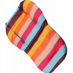 Amcho bébé Poussette/chaise haute/siège auto Coussin film de protection imperméable et respirant Pad (Rainbow Stripes) de la marque Amcho image 1 produit
