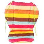 Amcho bébé Poussette/chaise haute/siège auto Coussin film de protection imperméable et respirant Pad (Rainbow Stripes) de la marque Amcho image 2 produit