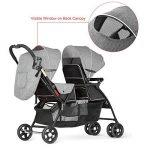 besrey poussette double de bébé pour 2 enfants d'âge rapprochés (les frères et sœurs) de 6 mois à 36 mois de la marque besrey image 2 produit
