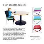 Btsky pour bébé Kid Infant démontable réglable lavable Rehausseur avec sangles Chaise de salle à manger Chaise Chaise de coussinets renforcer la Coussin de voyage de stockage de la marque BTSKY image 4 produit