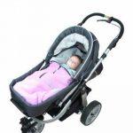 ByBoom® - Chancelière 2 en1 Été, universelle pour coques bébé, sièges auto, par ex. pour Maxi-Cosi, Römer, landaus ou poussettes de la marque ByBoom image 4 produit