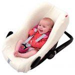 ByBUM - housse d'été éponge, housse universelle pour coques bébé, sièges auto, par ex. pour Maxi-Cosi, Römer de la marque ByBoom image 1 produit