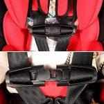 Ceinture de sécurité Safe Lock, Mustone Siège auto Sangle ceinture Lock Tite Tight Harnais Clip Boucle de sécurité pour bébé (Noir) de la marque MuStone image 3 produit