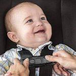 Ceinture de sécurité Safe Lock, Mustone Siège auto Sangle ceinture Lock Tite Tight Harnais Clip Boucle de sécurité pour bébé (Noir) de la marque MuStone image 4 produit