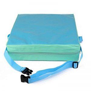 Coussin d'appoint en Cuir Artificiel pour Chaise de Salle à Manger Enfant (Bleu) de la marque Lance Home image 0 produit