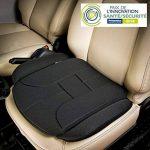 Coussin d'assise pour voiture - Marque ad'just® / Version Confort - Coussin pour siège de voiture - Coussin ergonomique de voiture - Coussin pour soulager les douleurs lombaires en voiture - Coussin pour soulager le coccyx - Coussin ad'just® pour voiture image 1 produit