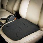 Coussin d'assise pour voiture - Marque ad'just® / version standard - Coussin pour siège de voiture - Coussin ergonomique de voiture - Coussin pour soulager les douleurs lombaires en voiture - Coussin pour soulager le coccyx - Coussin ad'just pour voiture image 1 produit