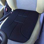 Coussin d'assise pour voiture - Marque ad'just® / version standard - Coussin pour siège de voiture - Coussin ergonomique de voiture - Coussin pour soulager les douleurs lombaires en voiture - Coussin pour soulager le coccyx - Coussin ad'just pour voiture image 2 produit