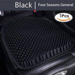 Coussin de siège de voiture en silicone respirant massage Silicone voiture siège intérieur coussin de couverture avec unique conception de pilier 3D adapté pour 4 saisons par WYCY(Noir) de la marque WYCY image 1 produit