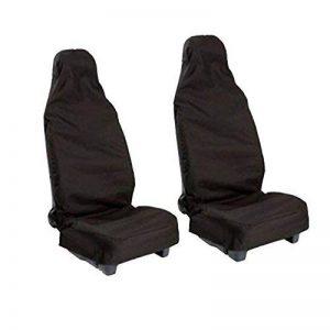 Cushion de Voiture Universel,Protection de la Housse de Chaise Avant,Imperméable à l'eau étanche à la Poussière Voiture Cushion Pad pour Votre Voiture (Noir) de la marque vientiane image 0 produit