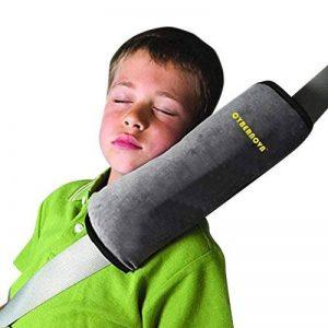 CYBERNOVA Siège enfant Kid véhicules de ceinture harnais d'épaule Pad Support couverture Coussin de tête (gris) de la marque CYBERNOVA image 0 produit