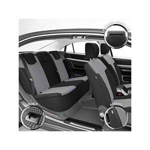 DBS 1011163 Housse de siège Auto/Voiture - Sur Mesure - Finition Haut de Gamme - Montage Rapide - Compatible Airbag - Isofix de la marque DBS image 0 produit