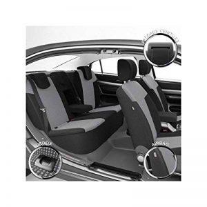 DBS 1011902 Housse de siège Auto/Voiture - Sur Mesure - Finition Haut de Gamme - Montage Rapide - Compatible Airbag - Isofix de la marque DBS image 0 produit