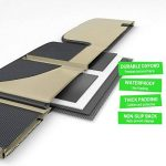 Drive Auto Products Protecteur de Siège de Voiture pour Bébé avec Tapis de Chien Pack DE 1 Bronzage de la marque Drive Auto Products image 4 produit