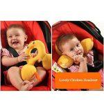 ENFANTS tout-petits doux de siège de voiture appui-tête Oreiller, bébé Poussette Coussin Tête et cou support–sûr et confortable de la marque Inchant image 4 produit