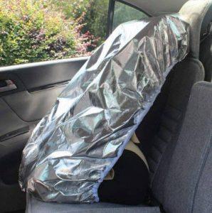 EX1 Bébé Enfant Auto Voiture Housse de Siège Parasol Lumière du Soleil Chaleur UV Rayons Réflecteur Protection Anti Poussière de la marque EX1 image 0 produit