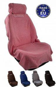 fixcape -rapide et facile, Housses de sièges de voiture, housses de protection pour voiture servant de plaid dont l'utilisation est maline / Protection de sièges de voiture / Support de sièges Siège de voiture / Couverture pour chien (Rosé) de la marque f image 0 produit