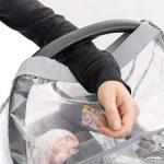 Habillage pluie confort universel pour tous types de sièges-autos bébé (Bébé Confort, Cybex, Recaro) | bonne circulation de l'air, fenêtre de contact, montage facile, ouverture de transport, sans PVC de la marque Zamboo image 4 produit