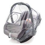 Habillage pluie confort universel pour tous types de sièges-autos bébé (Bébé Confort, Cybex, Recaro) | bonne circulation de l'air, fenêtre de contact, montage facile, ouverture de transport, sans PVC de la marque Zamboo image 1 produit