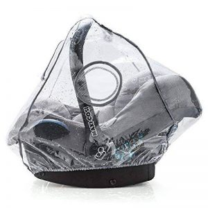 Habillage pluie confort universel pour tous types de sièges-autos bébé (Bébé Confort, Cybex, Recaro) | bonne circulation de l'air, fenêtre de contact, montage facile, ouverture de transport, sans PVC de la marque Zamboo image 0 produit