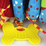 Happy Cherry - Hochet Spiral en Peluche Multi Activités - Jouet d'éveil pour lit et poussette - Jouet 1er âge - 5 styles de la marque Happy Cherry image 4 produit