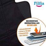 Housse de siège enfant Filfia, double pack, noire de la marque Filfia image 1 produit