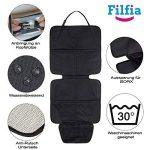 Housse de siège enfant Filfia, double pack, noire de la marque Filfia image 2 produit