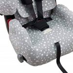 Housse pour Recaro Young Sport Hero avec renfort de canal central 3D Janabebé® de la marque JANABEBE image 2 produit