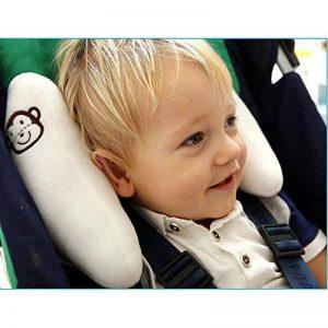Inchant bébé enfant confortable Tête et cou support réglable souple de voiture Oreiller de voyage appui-tête pour les tout-petits enfants Poussette de tête Prend en charge de la marque Inchant image 0 produit