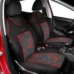 Kit de housses de sièges auto universelles pour les sièges avant - Rouge de la marque Auto-Dekor image 1 produit