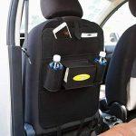 LeRan Organisateurs de Voiture Protection Arrière de Siège Auto pour Toutes Les Voitures (Noir, 2 packs) de la marque LeRan image 1 produit