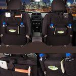 LeRan Organisateurs de Voiture Protection Arrière de Siège Auto pour Toutes Les Voitures (Noir, 2 packs) de la marque LeRan image 3 produit