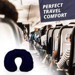 Lumaland Oreiller de voyage extra confortable Coussin de nuque gonflable de différentes couleurs de la marque Lumaland image 1 produit