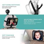 Miroir Auto Bébé PLUIESOLEIl Rétroviseur de Surveillance Bébé pour Siège Arrière Avec Une Rotation 360° Pour Bébé en Sécurité Miroir de Voiture de la marque PluieSoleil image 3 produit