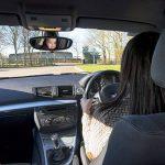 Miroir de voiture pour bébé, rétroviseur ajustable pour siège auto orienté vers l'arrière, surveiller votre enfant installé sur la banquette arrière, par EZ-Bugz de la marque EZ-Bugz image 2 produit