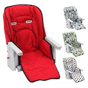 Monsieur Bébé ® Housse d'assise pour chaise haute enfant gamme Ptit - 4 coloris - Norme NF EN14988 de la marque Monsieur Bébé image 0 produit