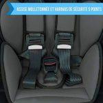 Monsieur Bébé ® Siège auto et rehausseur groupe 1.2.3 de 9 à 36kg - 100% fabriqué en France - 3 étoiles Test TCS - Trois coloris - Norme ECE R44/04 de la marque Monsieur Bébé image 3 produit