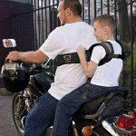 Moto Ceinture de sécurité enfant pour moto Ceinture enfant Sangle ceinture Harnais de sécurité enfant pour moto Moto d'accessoires pour véhicule électrique d'assise de la marque BAIYOU image 1 produit