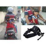 Moto Ceinture de sécurité enfant pour moto Ceinture enfant Sangle ceinture Harnais de sécurité enfant pour moto Moto d'accessoires pour véhicule électrique d'assise de la marque BAIYOU image 6 produit