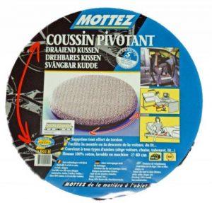 Mottez Coussin pivotant Gris 40 cm de la marque Mottez image 0 produit