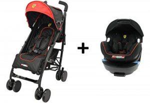 Mycarsit Poussette Combinée Ferrari, Groupe 0+ (0à 13 kg) de la marque Mycarsit image 0 produit