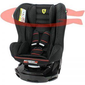 Mycarsit Siège Auto 360° Ferrari, Groupe 0+/1 (de 0 à 18 kg), Noir de la marque Mycarsit image 0 produit