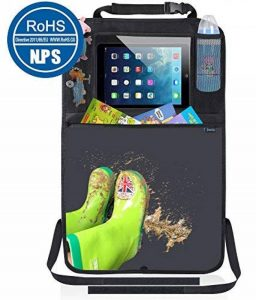 Organisateurs de Voiture Kick Mats, Protection Arrière de Siège Auto avec Support iPad Transparent par Termichy Matériau Imperméable à l'eau(1 paquet) de la marque Termichy image 0 produit