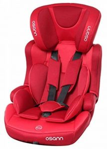 Osann 102–127–197Siège auto enfant LUPO Plus, 9–36kg, ECE Groupe 1/2/3, de Env. 8mois à 12ans utilisable, rouge de la marque Osann image 0 produit