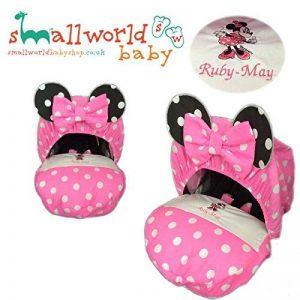 personnalisé Minnie Mouse Housse de siège auto pour bébé de la marque Small World Baby Shop image 0 produit