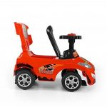 Porteur Auto en 7 couleurs: Voiture pour enfants 3 en 1 évolutif, tige de poussée amovible, siège repliable de la marque MillyMally image 2 produit