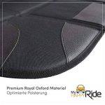 Protecteur de siège de voiture (Matériel Oxford Royal Premium), Isofix, Protège le revêtement des siège de Bébé/enfant, Imperméable à l'eau, avec poches, ajustement universel de la marque MyHappyRide image 2 produit