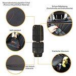 Protecteur de siège de voiture (Matériel Oxford Royal Premium), Isofix, Protège le revêtement des siège de Bébé/enfant, Imperméable à l'eau, avec poches, ajustement universel de la marque MyHappyRide image 3 produit