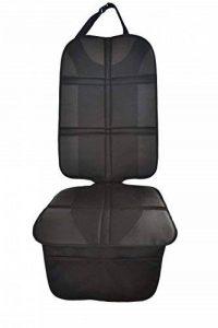 Protecteur de siège de voiture (Matériel Oxford Royal Premium), Isofix, Protège le revêtement des siège de Bébé/enfant, Imperméable à l'eau, avec poches, ajustement universel de la marque MyHappyRide image 0 produit
