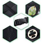 rovtop Protecteur de siège de voiture anti-dérapant avec organiseur poches Taille Universelle pour les sièges de voiture de bébé (Noir) de la marque Rovtop image 4 produit
